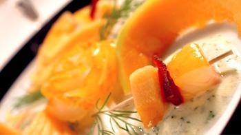 Recette haddock melon-Corrue