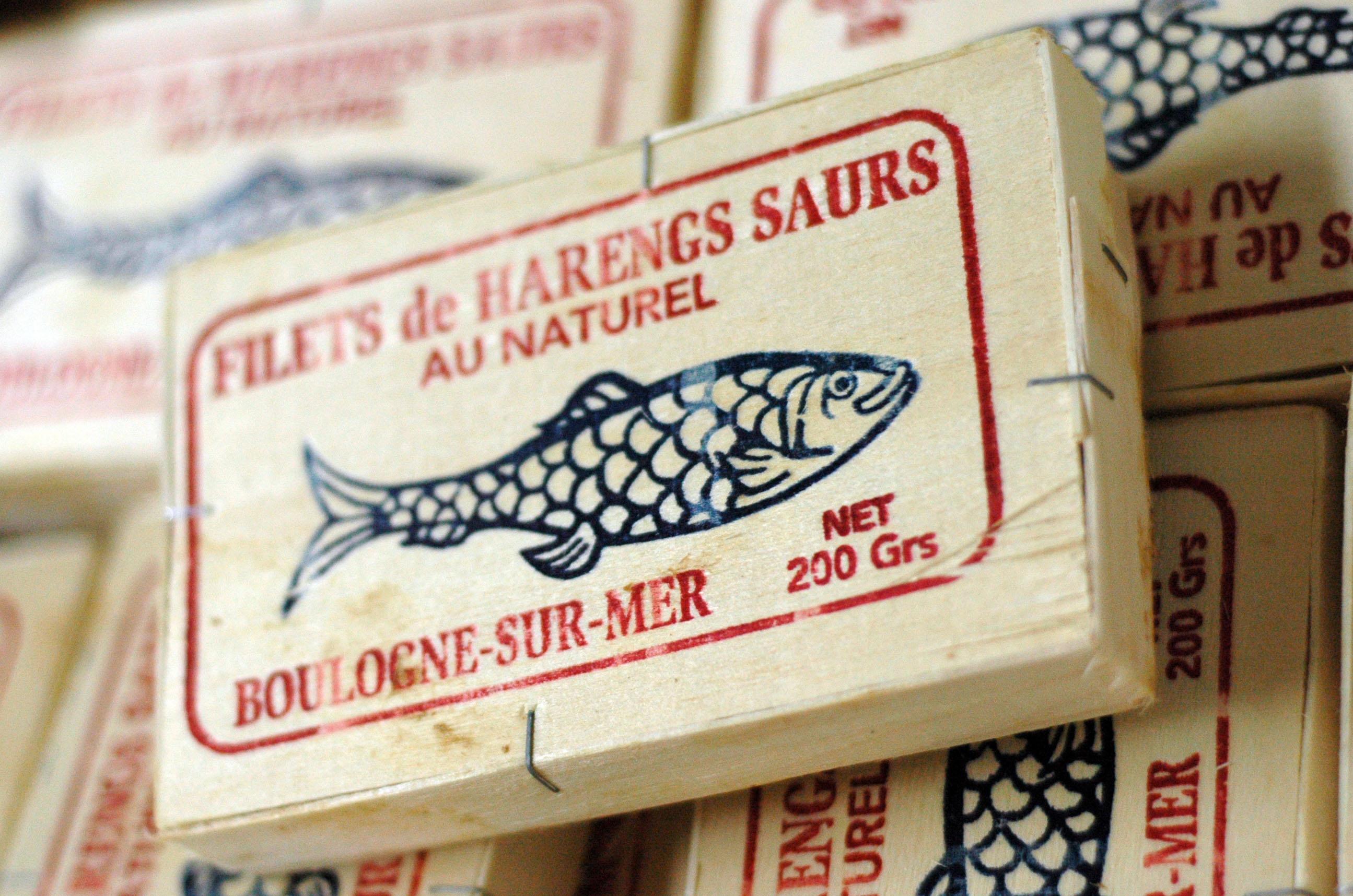 Filets de harengs saurs au naturel-Corrue-Boulogne-sur-mer