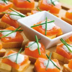 Saumon toast